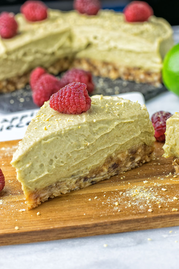 Lemon Raspberry Key Lime Pie