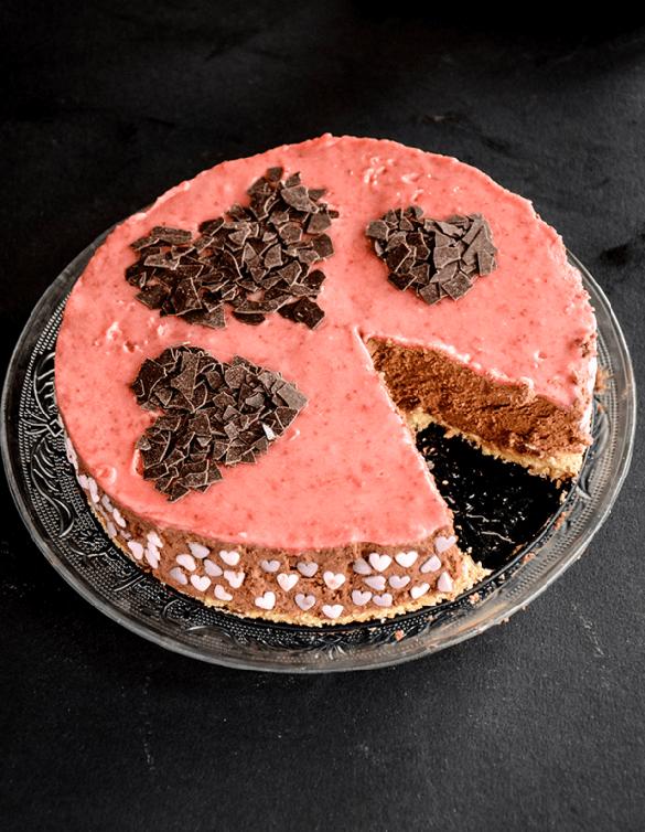 No-Bake Chocolate Mascarpone Cake