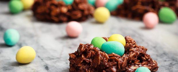 Bird's Nest Cookies