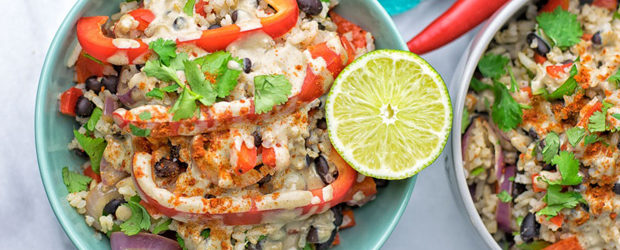Healthy Mexican Cheese Rice