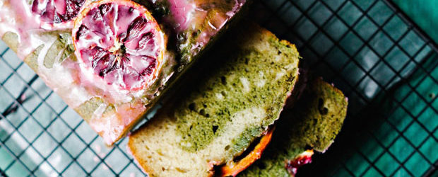Blood orange nutmeg & matcha swirled loaf cake1 - Copy