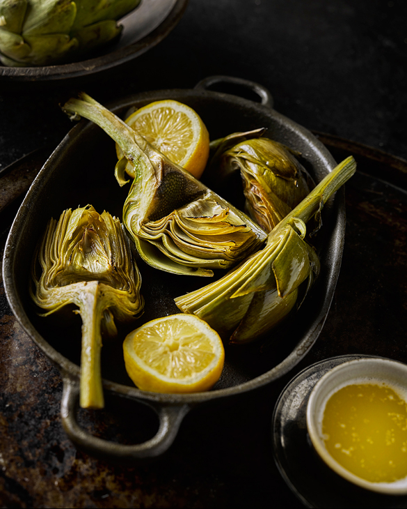 Casual Dining Food, photography by Greg Stroube