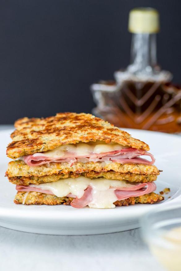 Cauliflower Monte Cristo Sandwich