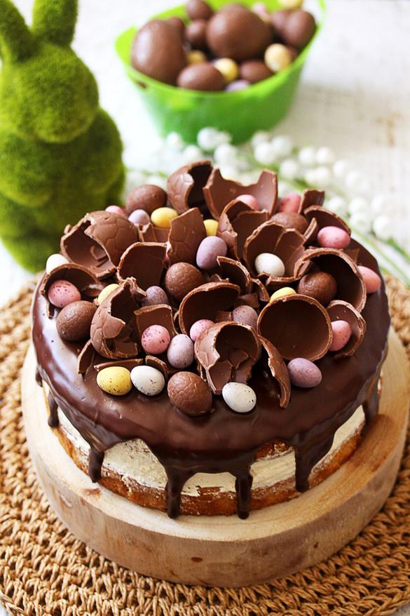 Hazelnut Easter Cake