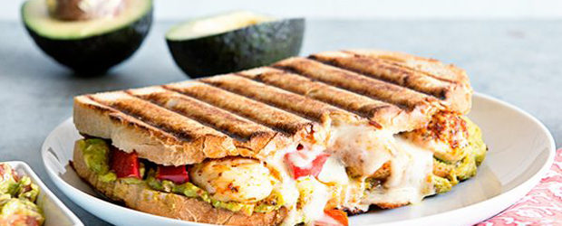 Southwest Avocado Chicken Panini Recipe1
