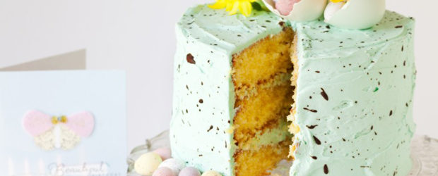 Speckle Cake White Chocolate Mint Layer Cake1