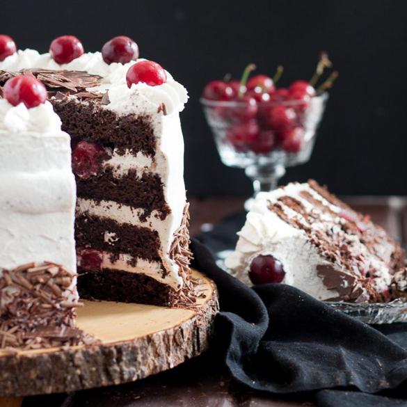 Black Forest Cake Fancy Edibles Com