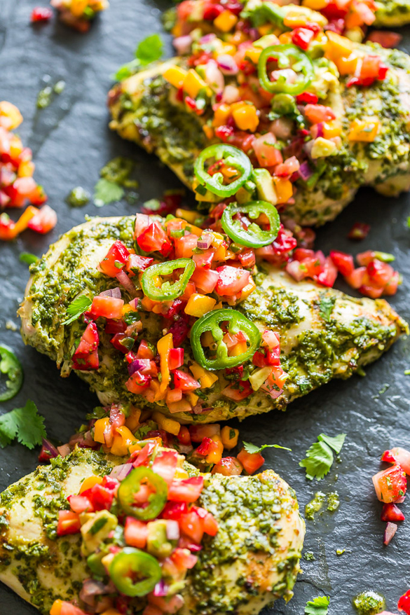 Jalapeno Cilantro Lime Grilled Chicken