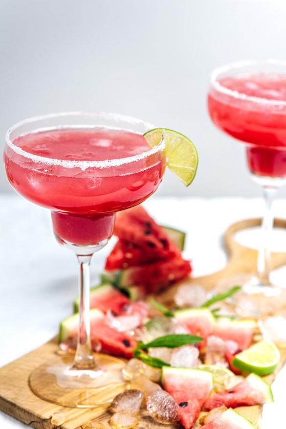 Mint Watermelon Margarita