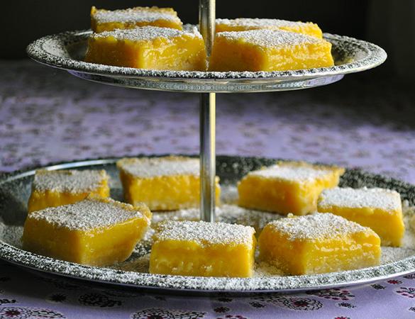 The Best Melt-in-Your-Mouth Lemon Bars