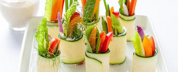 Fresh Veggie Zucchini Roll-Ups2