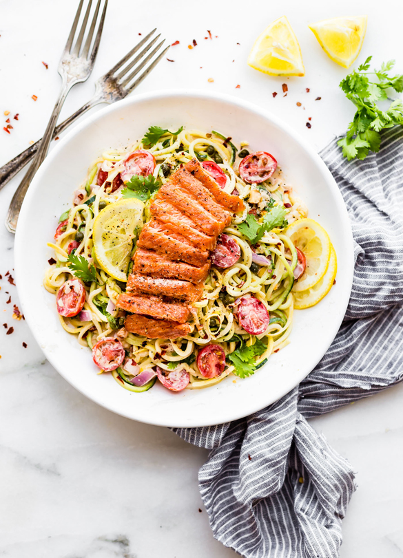how to cook zucchini noodles paleo