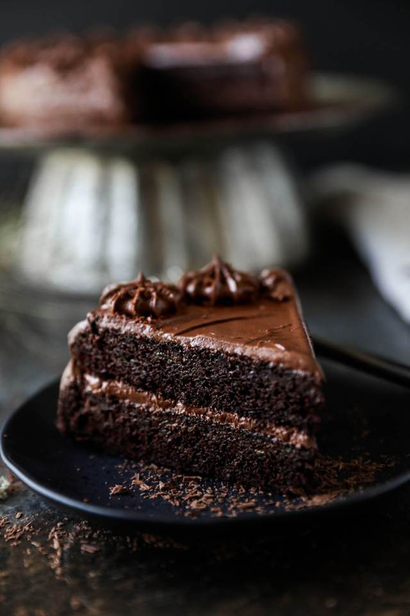 Gluten-free Chocolate Zucchini Cake