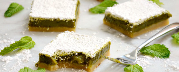 Matcha Lemon Bars