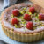 Pistachio and Raspberry Frangipane Tart