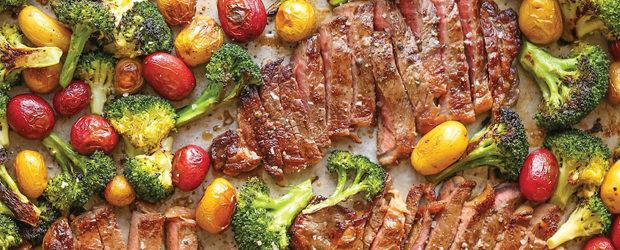 Sheet Pan Steak and Veggies2