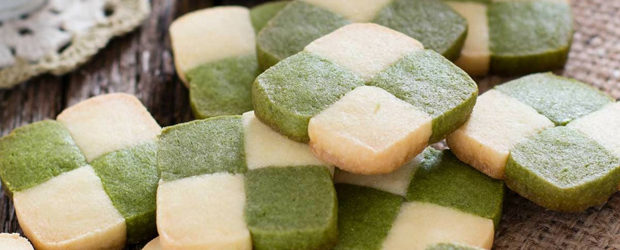 Matcha Japanese cookie
