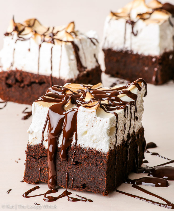 Sky high marshmallow brownies (gluten, nut & soy free, dairy free option)