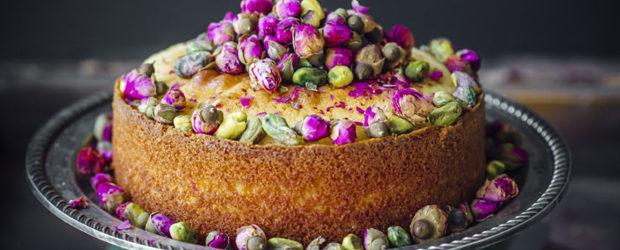 Rosewater Semolina Cake3