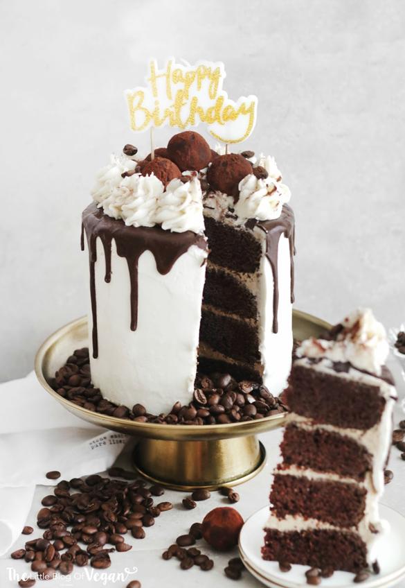 Vegan caramel coffee cake recipe