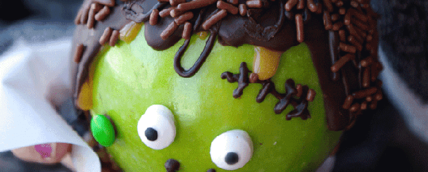 Wicked-Good Caramel Apples