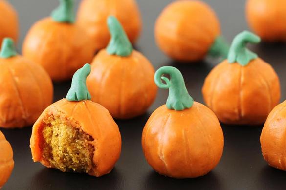 Doughnut Hole Pumpkins