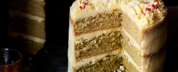 Matcha Cake with White Chocolate Mascarpone Buttercream3