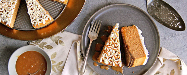 Spiced Sweet Potato Cheesecake Recipe