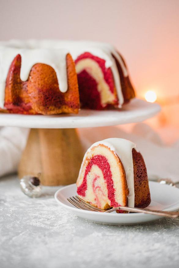 Red Velvet Marble Cake Recipe Fancy Edibles Com