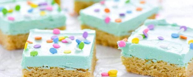 Simple Gluten Free Sugar Cookie Bars
