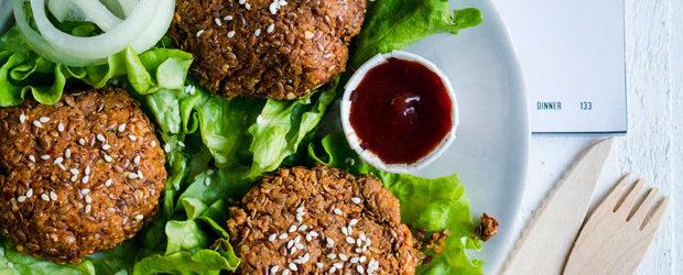 Walnut flax burgers (Vegan Weight Loss Manifesto)