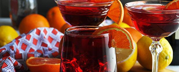 Hibiscus Tea Sangria Cocktail Recipe