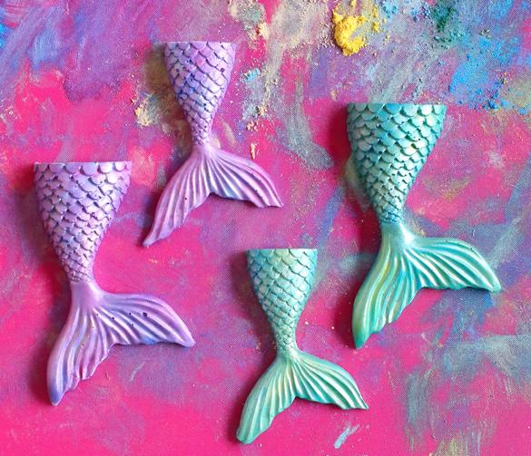 How to Make Mermaid Tail Chocolates