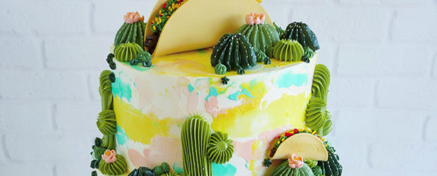Buttercream Succulents Decorate Edible Planters by Leslie Vigil
