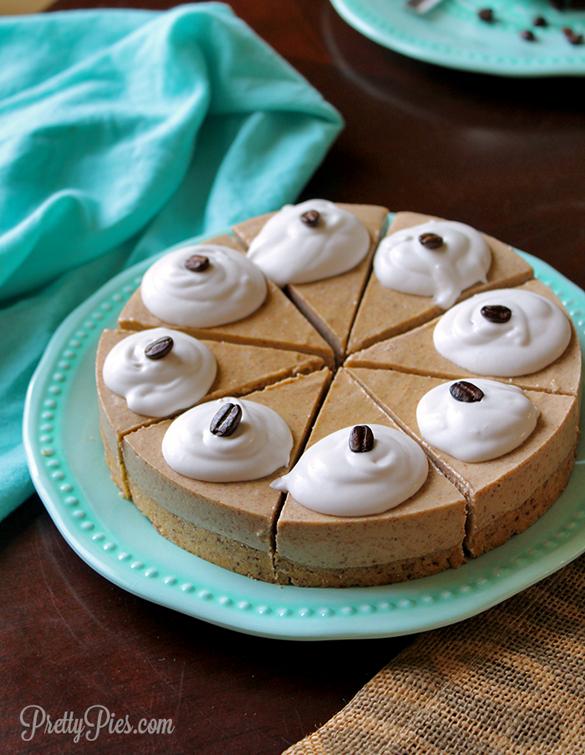 Coffee & Cream Pie (Low-Carb/Keto, Paleo, Vegan)