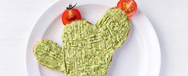 Cactus food art by Lee Samantha